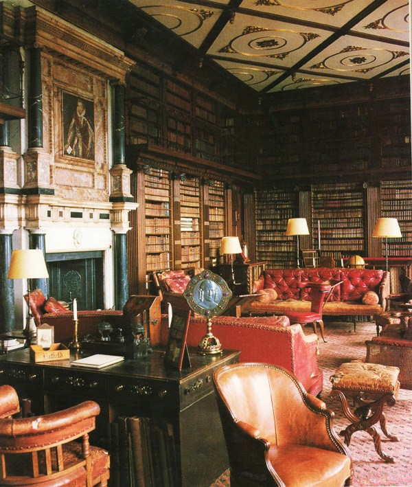 Library Old World Decorating3 Groin Grabbingly Excellent